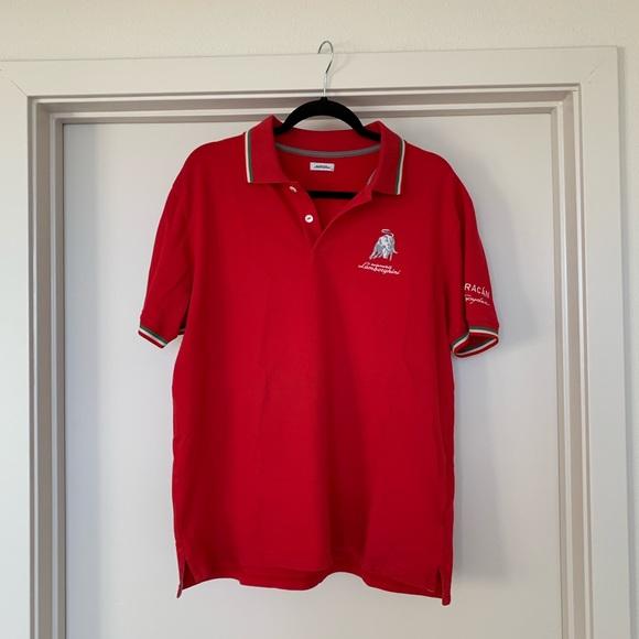 Lamborghini Shirts Polo Red Poshmark